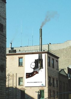 Ambient ads that work with their surroundings (19 pics) - Imgur