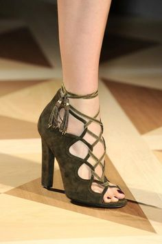 Ferragamo 2012 Collection. minus the tassles, cute
