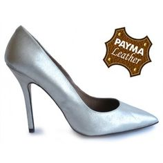 Stiletto piel oro 49,90€  www.calzadospayma.com