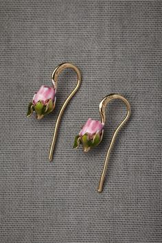 Blushing Buds Earrings from BHLDN
