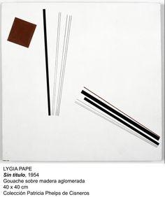 Lygia #Pape - Sin titulo, 1954