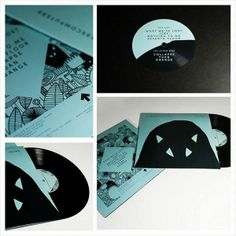 Jonathan Calugi x GODBLESSCOMPUTERS - EP Cover design & illustration #illustration #design #EP #cover #album #art #doodle