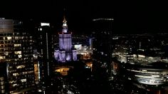 See remarkable Warsaw at night! The film was completely shot with a drone and presents the most important and most beautiful places in the Polish capital. High definition equipment (DJI S900 drone with Panasonic GH4 camera) allows you to view it in 4K resolution!
