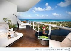 15 Beautiful Balcony Furniture for the Modern Family | Home Design Lover