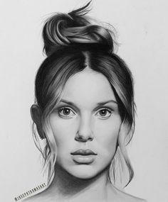Millie Bobby Brown Drawing by JosephThomasArt on DeviantArt
