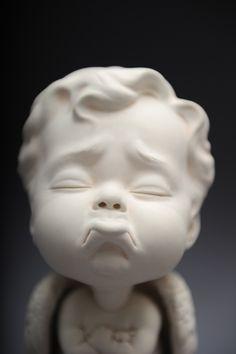 Hong Kong artist Johnson Tsang's grotesque yet beautiful ceramic babies…