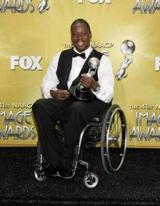 "Daryl Chill Mitchell. Paraplegic, actor before and after injury, seen in ""Eli,"" ""Desperate Housewives"" and NBC's ""Brothers.""  >>> See it. Believe it. Do it. Watch thousands of SCI videos at SPINALpedia.com"