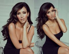 Kim Kardashian- We love Kim Kardashian at The One Consulting. Hair, makeup, style- Fabulous!