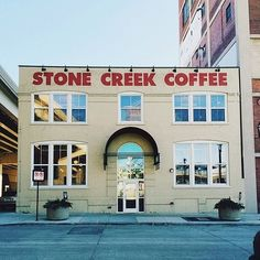 24 U.S. Coffee Shops To Visit Before You Die. Stone Creek is in Milwaukee. There's another Iowan one in here too.