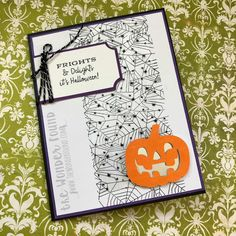 The Wonder Found: Alternate September 2018 Paper Pumpkin (Stampin Up) Project Id. The Wonder Found Up Halloween, Halloween Cards, Halloween Themes, Halloween Pumpkins, Pumpkin Cards, Paper Pumpkin, Happy Anniversary Wishes, Anniversary Cards, Fall Cards