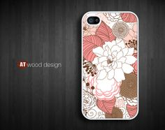 iphone 4 case iphone 4s case New Iphone 5 case red by Atwoodting, $13.99