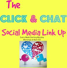 There is still time to linkup!! We don't close till Sunday night!!  The Click and Chat Social Media Link  Up!  Ready to grow your social media like a champ? Come on by and take part in this awesomely effective link up party!  @ Adventures in Mindful Living