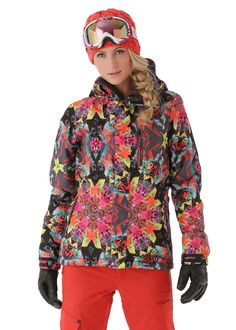 Volcom Women s Free Insulated Jacket in Black Snow Fashion 0887d0bb0c