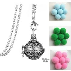 Find More Pendant Necklaces Information about Aroma Perfume Magic Design Locket Cage Aromatherapy Pom Pom Ball Essential Oil Diffuser Openable Necklace Fashion Jewelry ,High Quality designer jewelry,China fashion jewelry Suppliers, Cheap jewelry design from Winslet&Jean on Aliexpress.com