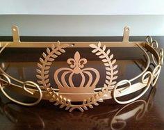 Dossel de Parede Brasão e Coroa