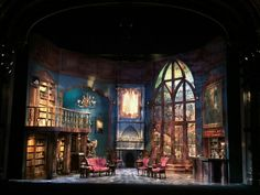 Designed by William J. Mohney for the Fulton Theatre in Lancaster, PA Stage Set Design, Set Design Theatre, Cool Lighting, Lighting Design, Concert Stage Design, Then There Were None, Pub Design, Scenic Design, Staging
