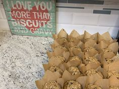 Not Your Momma's Bran Muffins Sweets Recipes, Muffin Recipes, Bread Recipes, Baking Recipes, Yummy Recipes, Breakfast Recipes, Desserts, Yummy Food, Bran Buds