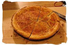 Looking for a different kind of dessert? Melktart is a traditional South African tart with a soft buttery crust and creamy custard filling. This classic South African dessert is served at both the most formal parties and the most humble teas. South African Desserts, South African Recipes, Africa Recipes, Tart Recipes, Best Dessert Recipes, Cooking Recipes, Custard Recipes, Kinds Of Desserts, Fun Desserts