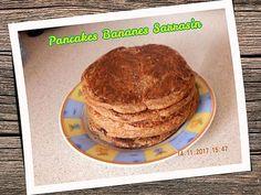 recette Pancakes bananes sarrasin Breakfast, Food, Soy Milk, Buckwheat, Recipes, Morning Coffee, Meal, Essen, Hoods