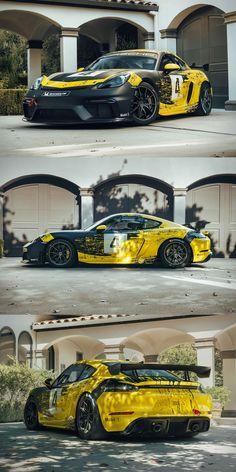 Porsche Autos, Bmw Autos, Porsche Gt3, Porsche Cars, Porsche 718 Cayman Gts, Racing Car Design, New Luxury Cars, Cayman Gt4, Street Racing Cars