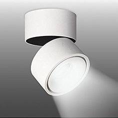 LANBOS Indoor 10W LED Spotlight wall light 360°Adjustable Ceiling Downlight /Surface Mounted COB Lighting LED/Cool White 6000K/ 10X10CM/Aluminum Wall Lamp or Spot Light (White-6000K) Spotlights, Cob, Downlights, Free Delivery, Sweet Home, Wall Lights, Surface, Study, Ceiling