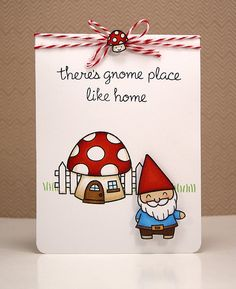 the Lawn Fawn blog: Gnome place like home