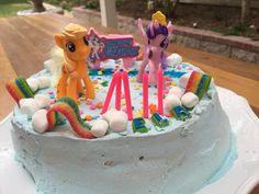 My little pony ice cream cake