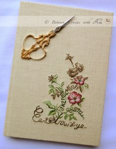 notebook - handmade by Nina