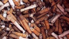 "Smokers: recyle your butts! "" Butts represent the most numerous form of trash that volunteers collect from the world's beaches on the Ocean Conservancy's cleanup days."" Watch: Cigarette Butts, World's Litter, Recycled as Park Benches"
