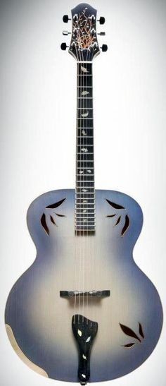 Adam Hanson H&S (Patriarch) Guitars Archtop Acoustic --- https://www.pinterest.com/lardyfatboy/