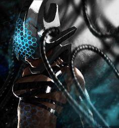 Cyberpunk girl…. 2 by gsemkow