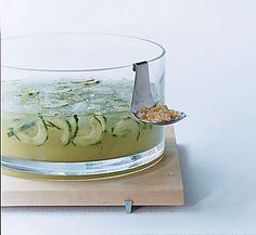 Sake ginger cucumber sangria       Cucumber, Ginger, and Sake Sangria Recipe  at Epicurious.com