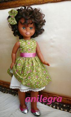 ANILEGRA COSE PARA NANCY: Zapatos de princesita para mis muñecas