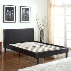 Madison Home USA Upholstered Bed Frame & Reviews | Wayfair