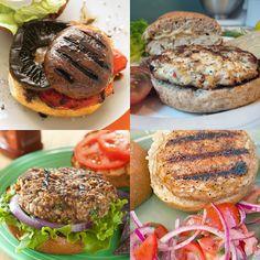 10 healthy burger recipes!