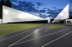 """NIKE'S CAMP VICTORY, USA  HUSH and Portland based architecture firm Skylab for the creation of """"Camp Victory"""" at the Olympic Running Trials in Oregon."""