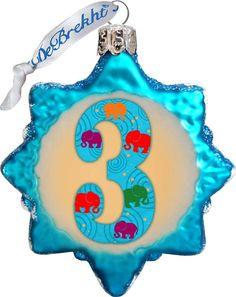 Keepsake 3 Mini Glass Ornament