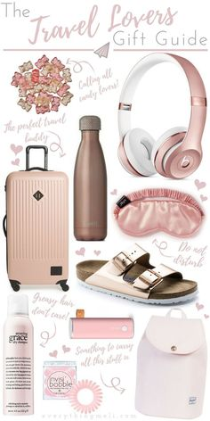 A Travel Lovers Gift Guide! A Travel Lovers Gift Guide! A Travel Lovers Gift Guide! Travel Packing Checklist, Travel Essentials For Women, Road Trip Packing, Road Trip Essentials, Travelling Tips, Travel Guide, Travel Vlog, Vacation Packing, Packing Lists