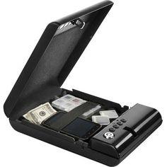 BARSKA 0.05 cu. ft. Steel Safe Digital Keypad Compact Lock Box, Black-AX11968 - The Home Depot