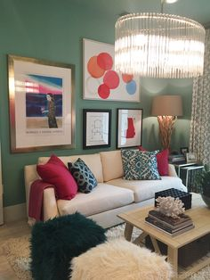 Colorful Room in the HGTV Dream Home