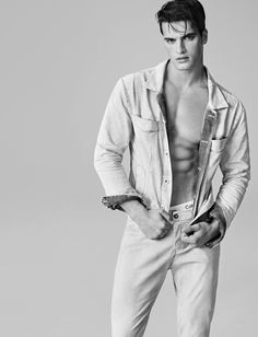 Matthew Terry for Calvin Klein Jeans Summer 2015 Campaign.