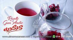 Rakyat Mesir menghidangkan karkadeh sebagai hibiscus teh atau teh roselle. Penyediaannya sentiasa menyegarkan samada dalam bentuk sejuk dan panas. Serbuk prebiotik semula jadi gum arabic Al-Salwa Ameer sajian berkhasiat anda.