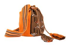 Beautiful mix and neutrals and colors - mochila
