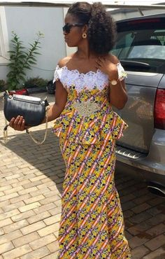 ankara mode Beautifully Designed Ankara Styles for Your Weekend Events - African Fashion Ankara, Latest African Fashion Dresses, African Print Dresses, African Print Fashion, Africa Fashion, African Dress, Kente Styles, Ankara Gown Styles, Ankara Skirt And Blouse