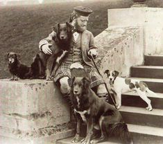Queen Victoria's Mr. Brown and dogs