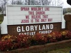 Funny Church Signs | Funny Church Signs: God accepts collect Calls ...