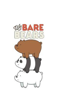 We bare bears wallpaper Cute Cartoon Wallpapers, Cute Wallpaper Backgrounds, Wallpaper Iphone Cute, Doraemon Wallpapers, Wallpaper Quotes, Ice Bear We Bare Bears, We Bear, Bear Cartoon, Cartoon Pics