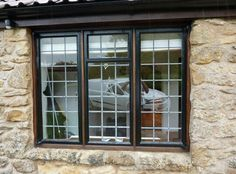 These aluminium windows look great and come in a variety of different colours #aluminum #windows #homeimprovement #yorkshire #energyefficient  #doubleglazing
