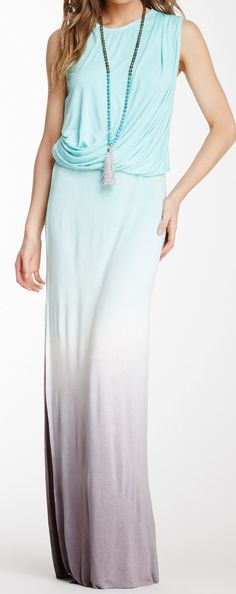 Ombre maxi this #fashion ideas also available on Tigerlesh. #womenswear #lookfortheday #fashion http://tigerleash.com/