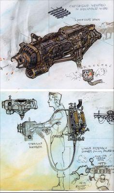 Fallout Art, Fallout Weapons, Fallout Concept Art, Sci Fi Weapons, Fallout New Vegas, Weapon Concept Art, Fantasy Weapons, Steampunk Weapons, Steampunk Diy